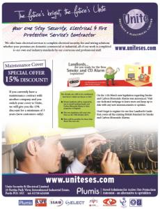 advert for uniteSES